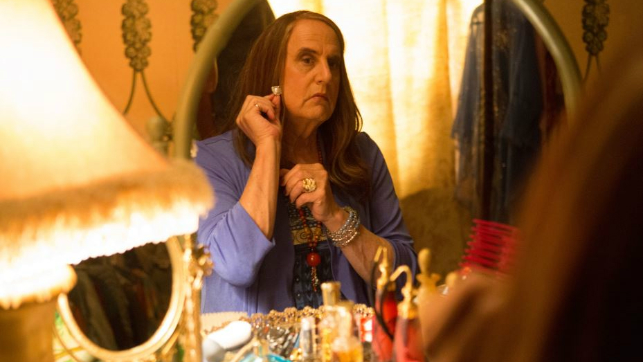 Golden Globes best actor Jeffrey Tambor as Maura in 'Transparent.' (courtesy Amazon Studios)
