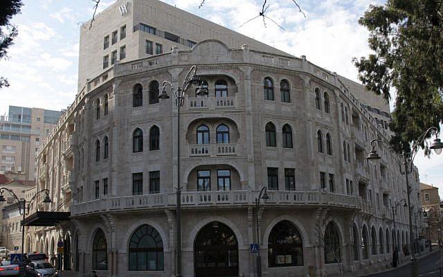 The Waldorf-Astoria in Jerusalem (photo credit: Shmuel Bar-Am)