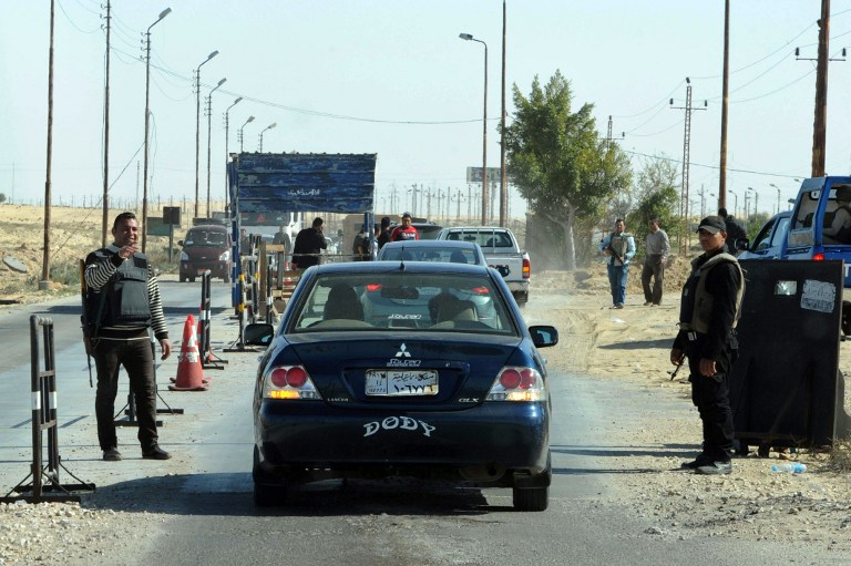 Armed attack kills at least six soldiers in Egypt's Sinai
