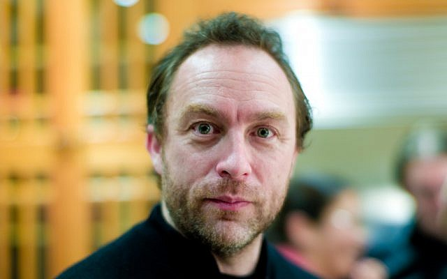 Jimmy Wales. (photo credit: CC BY Jol Ito, Flickr)
