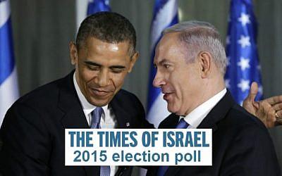 President Barack Obama and Prime Minister Benjamin Netanyahu (Photo credit: Flash 90)