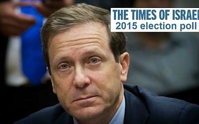 Labor and Zionist Camp leader Isaac Herzog (photo credit: Flash 90)