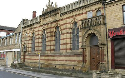 The Bradford Reform Synagogue. (photo credit: CC BY-SA John Yeadon, Wikimedia Commons)