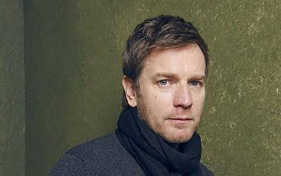 "Actor Ewan McGregor, posing here during the 2015 Sundance Film Festival, will direct Philip Roth's ""American Pastoral."" (photo credit: Larry Busacca/Getty Images)"