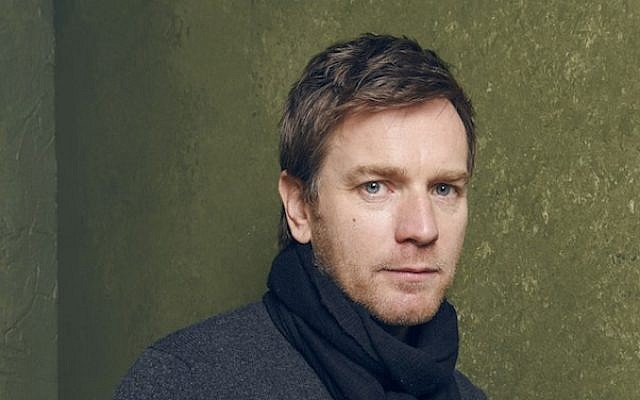 """Actor Ewan McGregor, posing here during the 2015 Sundance Film Festival, will direct Philip Roth's """"American Pastoral."""" (photo credit: Larry Busacca/Getty Images)"""
