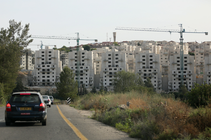 Construction in Beit Shemesh in May 2012. (photo credit: Nati Shohat/Flash90)