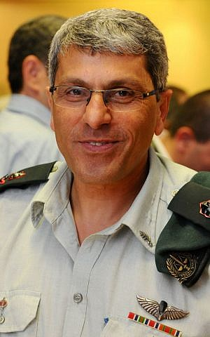 Current Military Advocate General Danny Efroni in 2013. (Yossi Zeliger/Flash90)