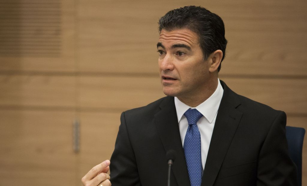 Yossi Cohen, National Security Adviser to Prime Minister Benjamin Netanyahu at a Foreign Affairs and Defense Committee meeting at the Knesset September 2, 2014. (Noam Revkin Fenton/ FLASH90)
