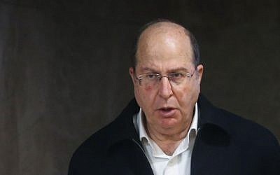 Defense Minister Moshe Ya'alon (Alex Kolomoisky/POOL/FLASH90)