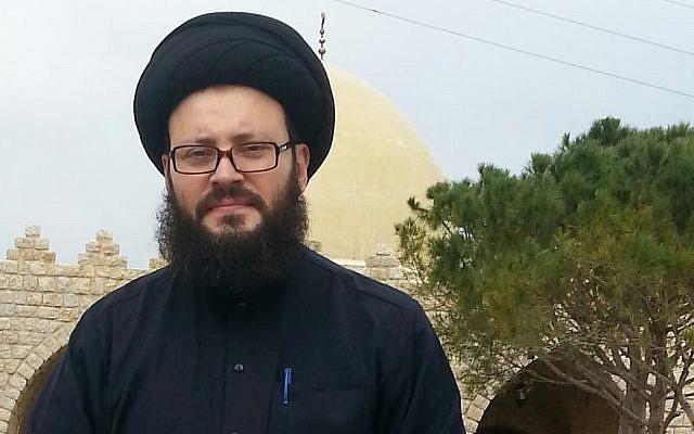 Lebanese cleric Sayyed Muhammad Ali al-Husseini (Facebook image)