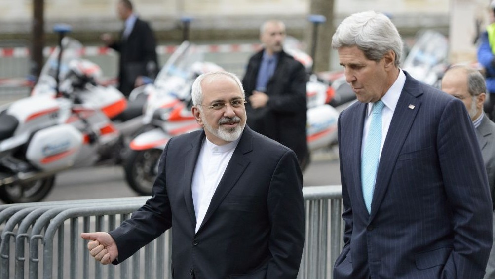Image result for John Kerry and Zarif, photos