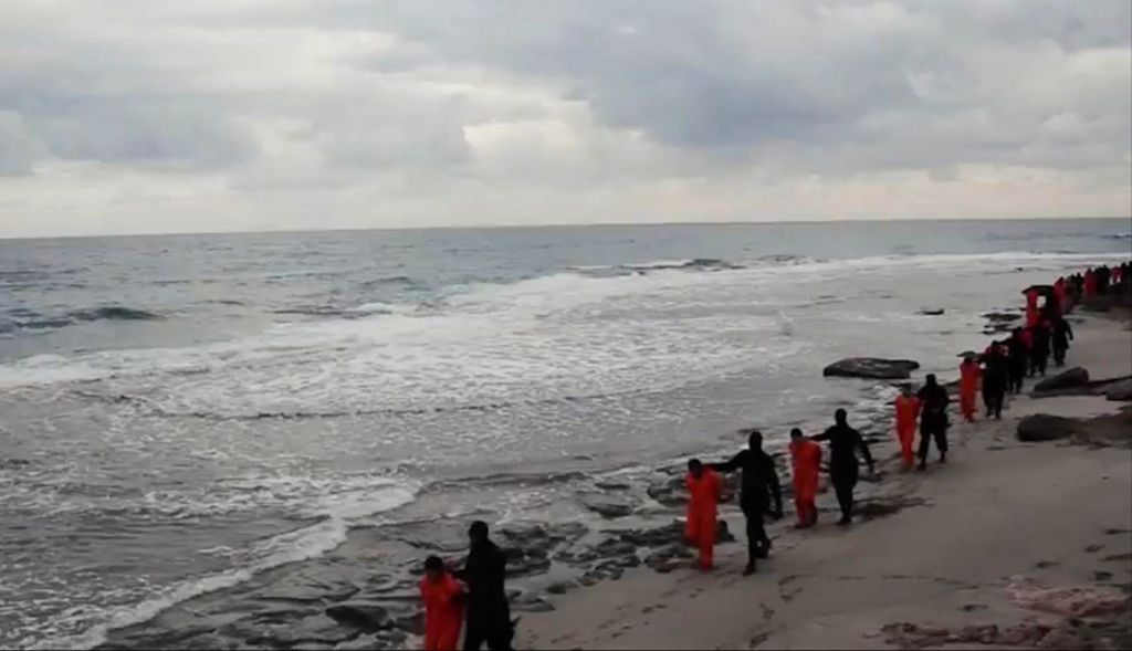 Libya says bodies of Egyptians beheaded by Islamic State group recovered