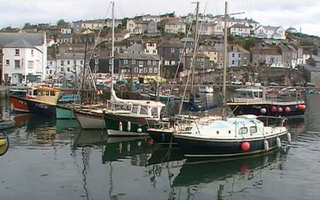 The village of Mevagissey in Cornwall (photo credit: YouTube screenshot)