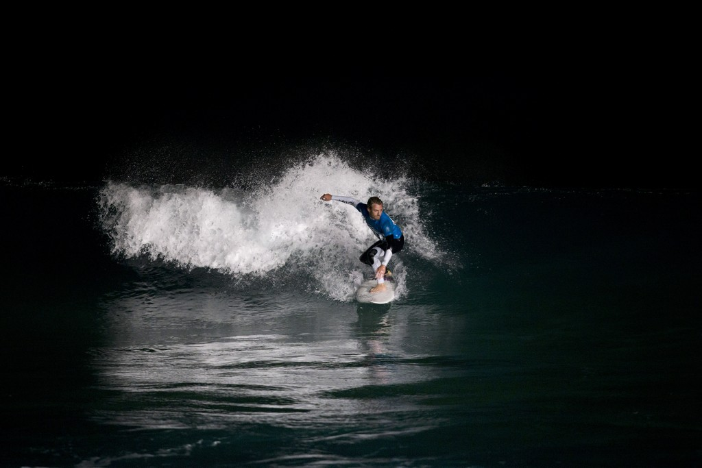 Israeli Surfers Take To Sea At Night The Times Of Israel
