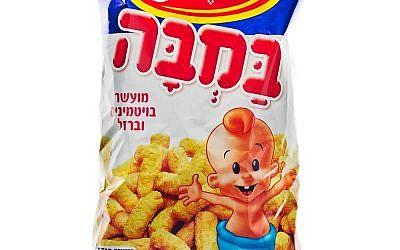 Peanut-based Israeli snack Bamba