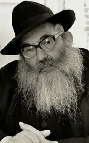 Rabbi Dovid Groner (YouTube screenshot)