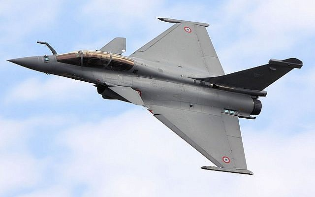 A French-made Dassault Rafale fighter jet. (photo credit: Wikipedia/CC BY-SA 2.0 Tim Felce)