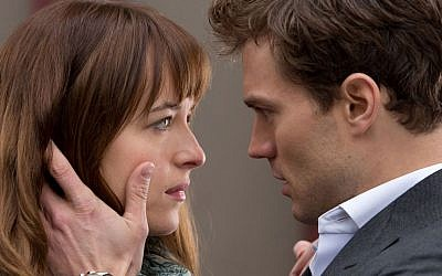 A scene from '50 Shades of Grey' (YouTube screenshot)