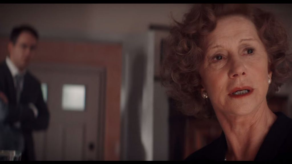 Helen Mirren and Ryan Reynolds in 'Woman in Gold.' (YouTube screenshot)