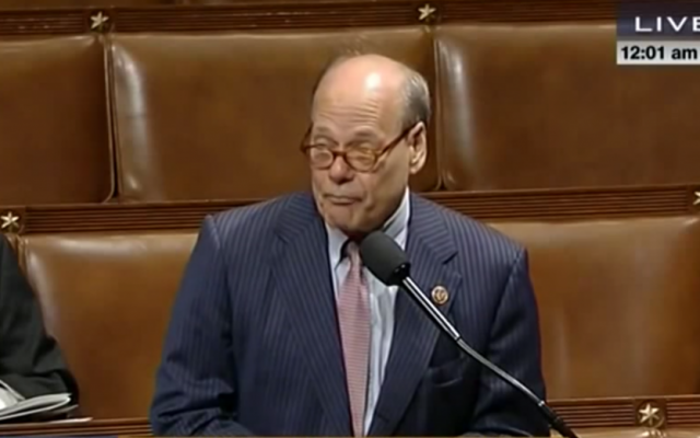 Congressman Steve Cohen (D-Ten.) speaking on the floor of the US House of Representatives (screen capture: C-SPAN)