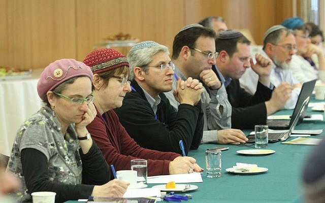 Rabbis with the Beit Hillel organization discussed issues regarding people with cognitive disabilities who want to celebrate a bar or bat mitzvah or get married. (courtesy photo: Beit Hillel)