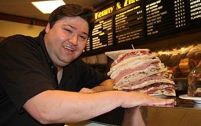 Deli Man Ziggy Gruber is featured in Erik Greenberg Anjou's documentary about the culture of Jewish delicatessens. (Cohen Media Group)