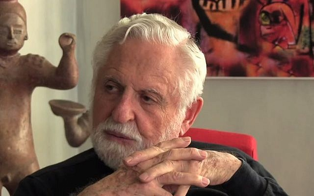 Jewish chemist Carl Djerassi, the father of the birth control pill (photo credit: YouTube screenshot)