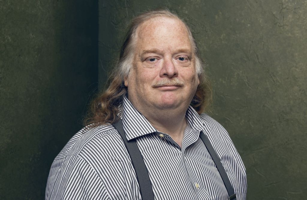 Jonathan Gold at the Sundance Film Festival, Jan. 27, 2015. (Larry Busacca/Getty Images/JTA)