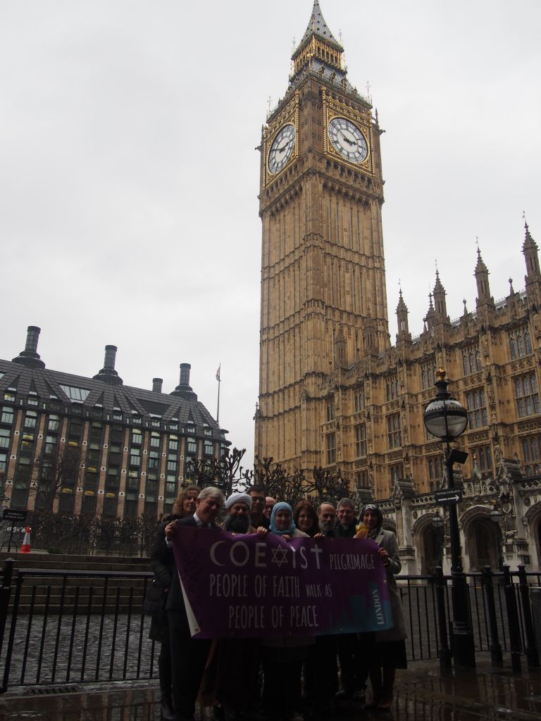 Iphone wallpaper london tumblr - Marchers On London S Coexist Pilgrimage In Front Of Big Ben February 19 2015
