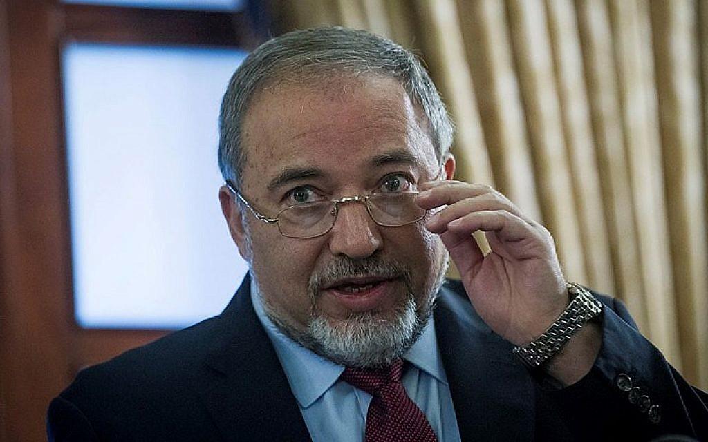 Yisrael Beytenu leader Avigdor Liberman. (Photo credit: Miriam Alster/FLASH90)