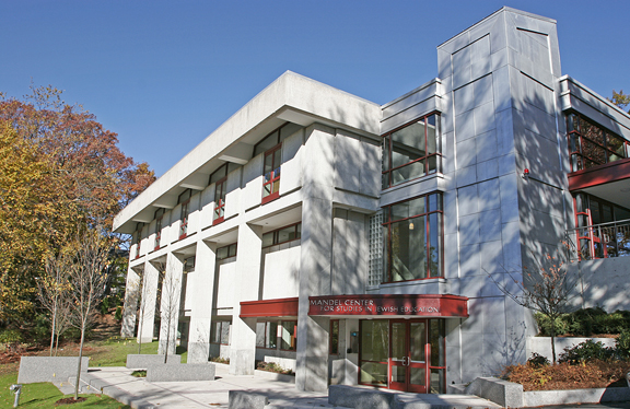 The Mandel Center for Studies in Jewish Education at Brandeis University in Waltham, Massachusetts (Brandeis University/via JTA)