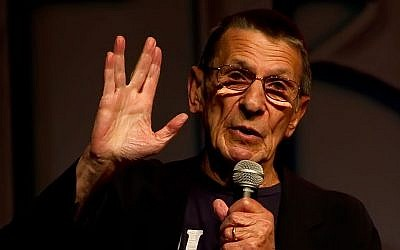 Leonard Nimoy at the Las Vegas Star Trek Convention 2011. (Photo credit: CC, BY Beth Madison/Wikimedia)