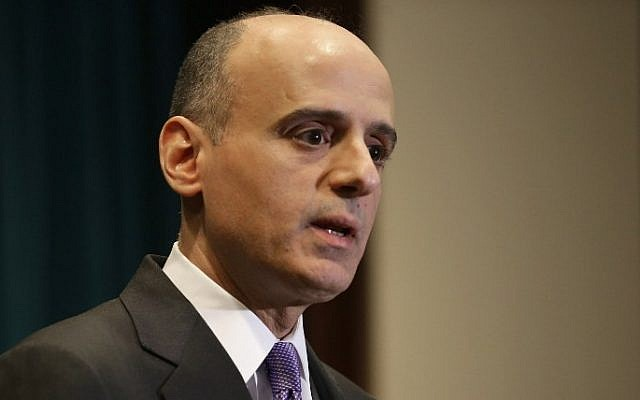 Saudi Arabian Ambassador to the United States Adel bin Ahmed Al-Jubeir, March 25, 2015 (Photo credit: Chip Somodevilla/Getty Images/AFP)