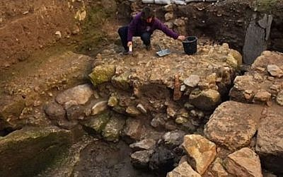 Nazareth structure believed to be Jesus' boyhood home (photo credit: YouTube screen capture)