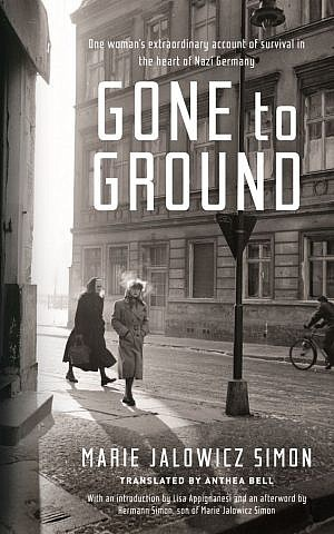 The cover of memoir 'Gone to Ground.' (courtesy)