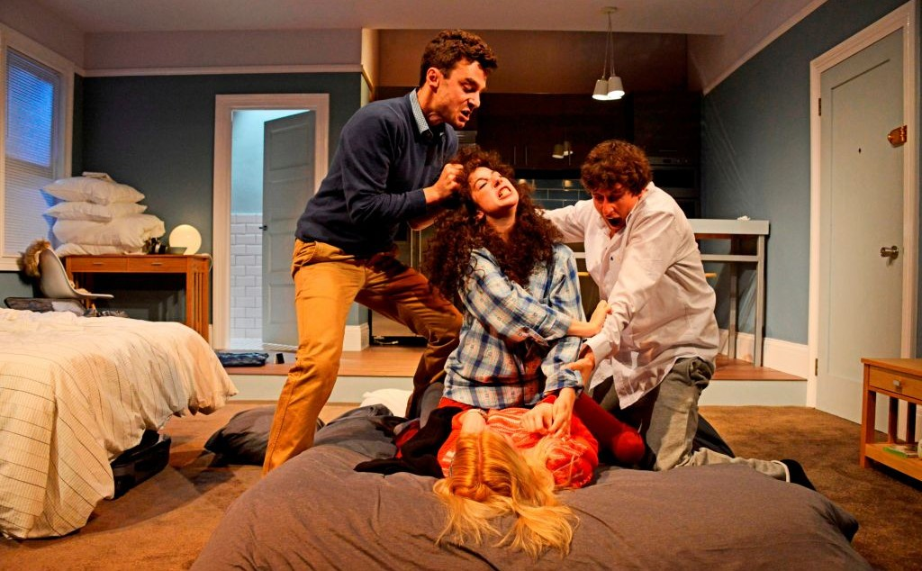 A Scene From The British Production Of Bad Jews Photo Credit Nobby