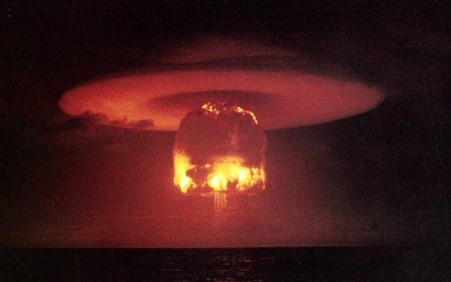 op ed calls on israel to nuke germany iran the times of israel