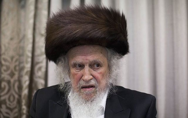 Ultra-orthodox Jews mourn passing of spiritual leader in Jerusalem