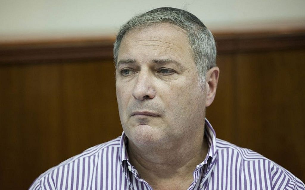 Israel Land Authority head Benzi Lieberman, September 22, 2014 (photo credit: Yonatan Sindel/Flash90)