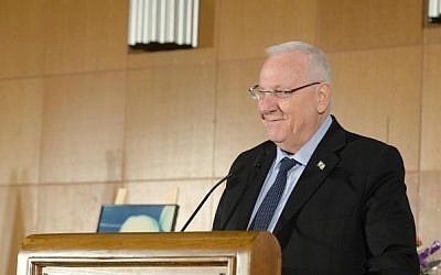 President Reuven Rivlin on March 18, 2015. (photo credit: Mark Neyman/GPO)