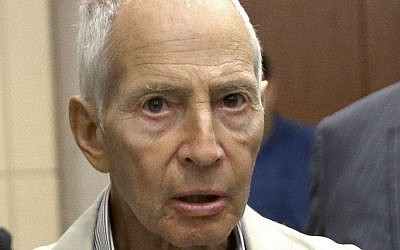 New York City real estate heir Robert Durst leaves a Houston courtroom, Aug. 15, 2014. (AP/Pat Sullivan)