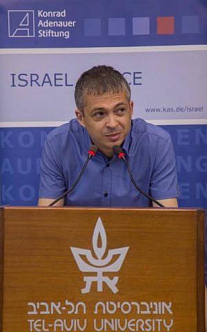 Itamar Radai of Tel Aviv University (photo credit: courtesy/Itamar Radai)