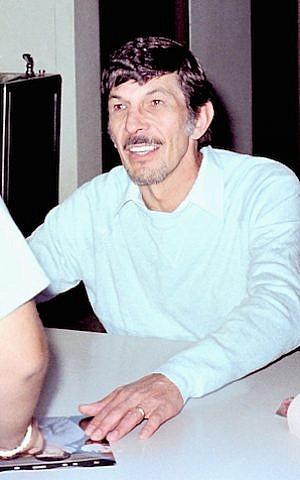 Leonard Nimoy, circa 1980. (Larry D. Moore/Wikimedia Commons/JTA)