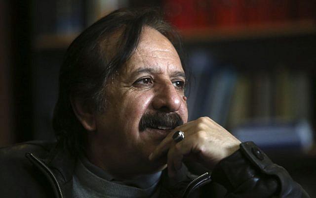 "Iranian filmmaker Majid Majidi, director of ""Muhammad, Messenger of God"". (photo credit: AP Photo/Vahid Salemi)"