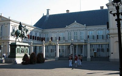The Noordeinde Palace of the Dutch royal family, in The Hague, Netherlands. (photo credit: Wikimedia Commons/Public domain)