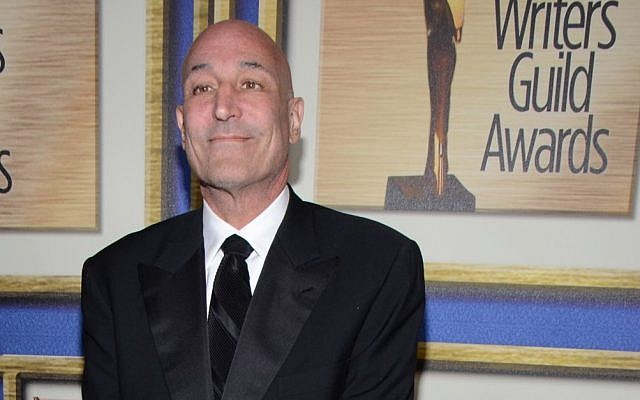 In this Feb. 1, 2014 file photo, Sam Simon arrives at the Writers Guild Awards, in Los Angeles. (Photo credit: Tonya Wise/Invision/AP, File)
