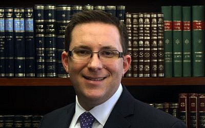 Rabbi Eric Grossman, who has been named to head Ramaz (photo courtesy of Rabbi Eric Grossman/JTA)