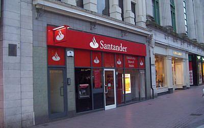 Santander Bank (Photo credit: Courtesy)