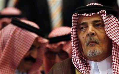 File: Saudi Foreign Minister Saud bin Faisal bin Abdulaziz Al Saud attends a meeting of Arab foreign ministers in Sharm el Sheikh, South Sinai, Egypt, March 26, 2015. (AP/Amr Abdallah Dalsh, Pool)