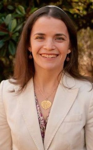 Texas Rabbi Elana Zelony. 'On one occasion I was even slapped on the behind by the president of the congregation during an interview.' (courtesy)